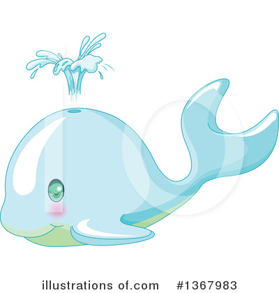 Whale Clipart #1367983 by Pushkin