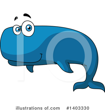 Whale Clipart #1403330 by Vector Tradition SM