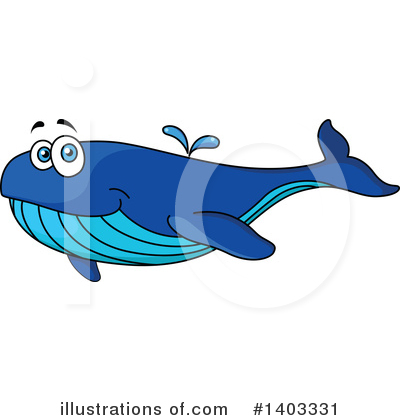Whale Clipart #1403331 by Vector Tradition SM