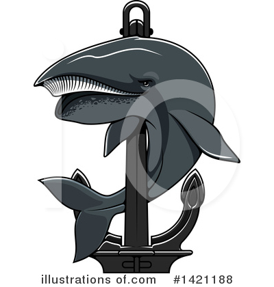 Anchor Clipart #1421188 by Vector Tradition SM