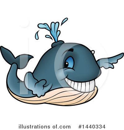 Whale Clipart #1440334 by dero