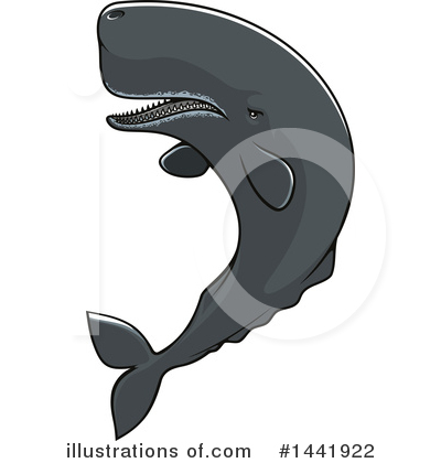 Whale Clipart #1441922 by Vector Tradition SM