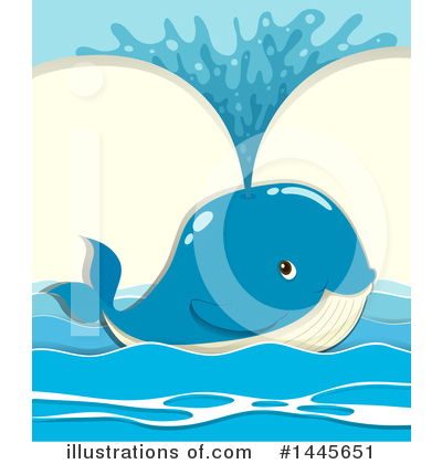 Whale Clipart #1445651 by Graphics RF