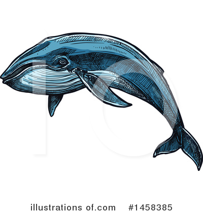 Whale Clipart #1458385 by Vector Tradition SM