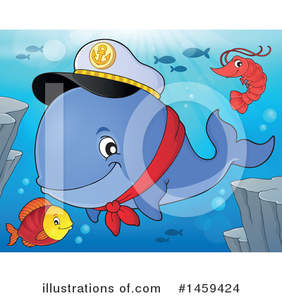 Whale Clipart #1459424 by visekart