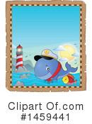 Royalty-Free (RF) Whale Clipart Illustration #1459441