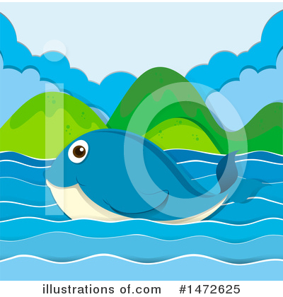 Whale Clipart #1472625 by Graphics RF
