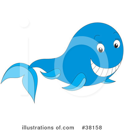 Whale Clipart #38158 by Alex Bannykh