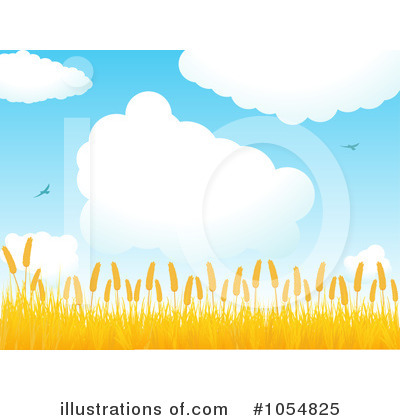 Royalty-Free (RF) Wheat Clipart Illustration by elaineitalia - Stock Sample #1054825