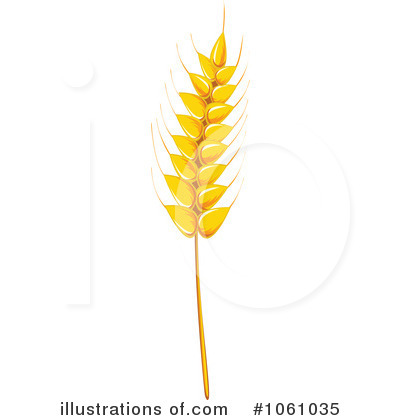 Royalty-Free (RF) Wheat Clipart Illustration by Seamartini Graphics ...