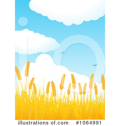 Wheat Clipart #1064991 by elaineitalia