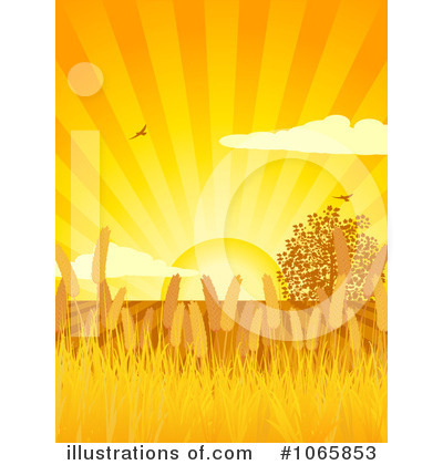 Wheat Clipart #1065853 by elaineitalia