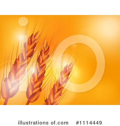 Wheat Clipart #1114449 by elaineitalia