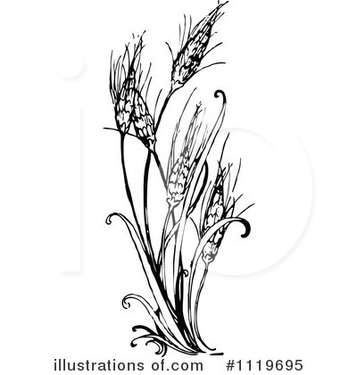 Free (RF) Floral Clipart Illustration by Prawny Vintage - Stock Sample