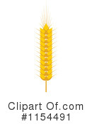 Wheat Clipart #1154491 by Vector Tradition SM