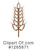 Wheat Clipart #1265871 by Vector Tradition SM