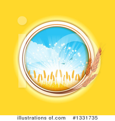 Wheat Clipart #1331735 by elaineitalia