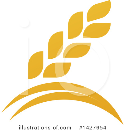 Wheat Clipart #1427654 by AtStockIllustration