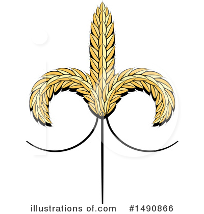 Wheat Clipart #1490866 by Lal Perera