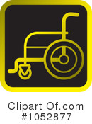 Wheelchair Clipart #1052877 by Lal Perera