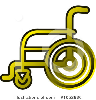 Wheelchair Clipart #1052886 by Lal Perera