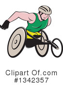 Wheelchair Clipart #1342357 by patrimonio