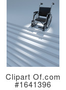 Wheelchair Clipart #1641396 by Steve Young