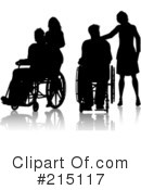 Wheelchair Clipart #215117 by KJ Pargeter