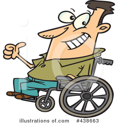 Wheelchair Clipart #438663 by toonaday