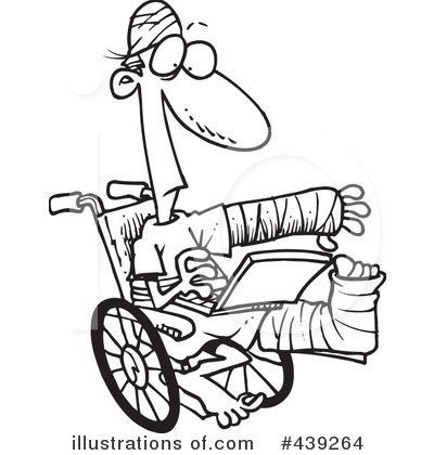 Wheelchair Clipart #439264 by toonaday