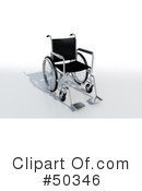 Wheelchair Clipart #50346 by Frank Boston