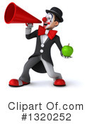 White And Black Clown Clipart #1320252 by Julos