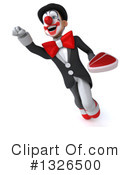 White And Black Clown Clipart #1326500 by Julos