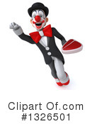 White And Black Clown Clipart #1326501 by Julos