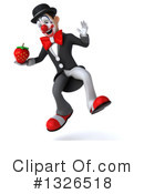 White And Black Clown Clipart #1326518 by Julos