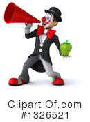 White And Black Clown Clipart #1326521 by Julos