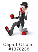 White And Black Clown Clipart #1370236 by Julos