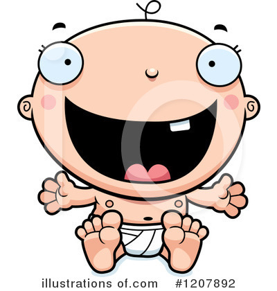 Baby Clipart #1207892 by Cory Thoman