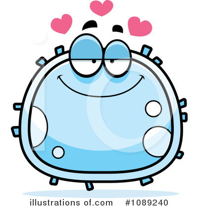 White Blood Cell Clipart #1089240 by Cory Thoman