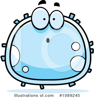 White Blood Cell Clipart #1089245 by Cory Thoman