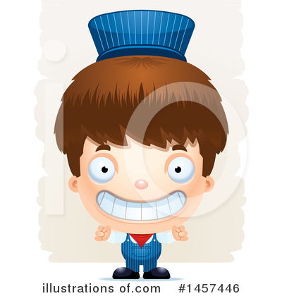 Train Engineer Clipart #1457446 by Cory Thoman