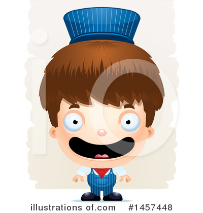 Train Engineer Clipart #1457448 by Cory Thoman