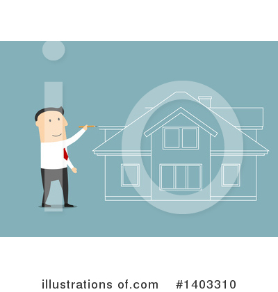 House Clipart #1403310 by Vector Tradition SM
