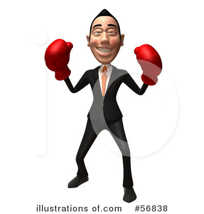 White Businessman Character Clipart #56838 by Julos