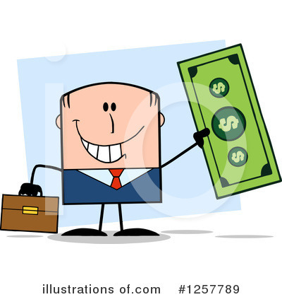 Dollar Clipart #1257789 by Hit Toon