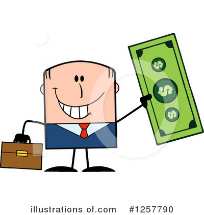 Dollar Clipart #1257790 by Hit Toon