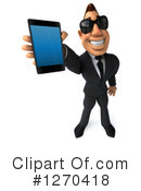 White Businessman Clipart #1270418