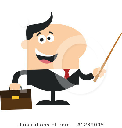 Businessman Clipart #1289005 by Hit Toon