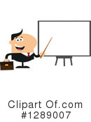 Royalty-Free (RF) White Businessman Clipart Illustration #1289007