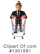 White Businessman Clipart #1301581 by Julos
